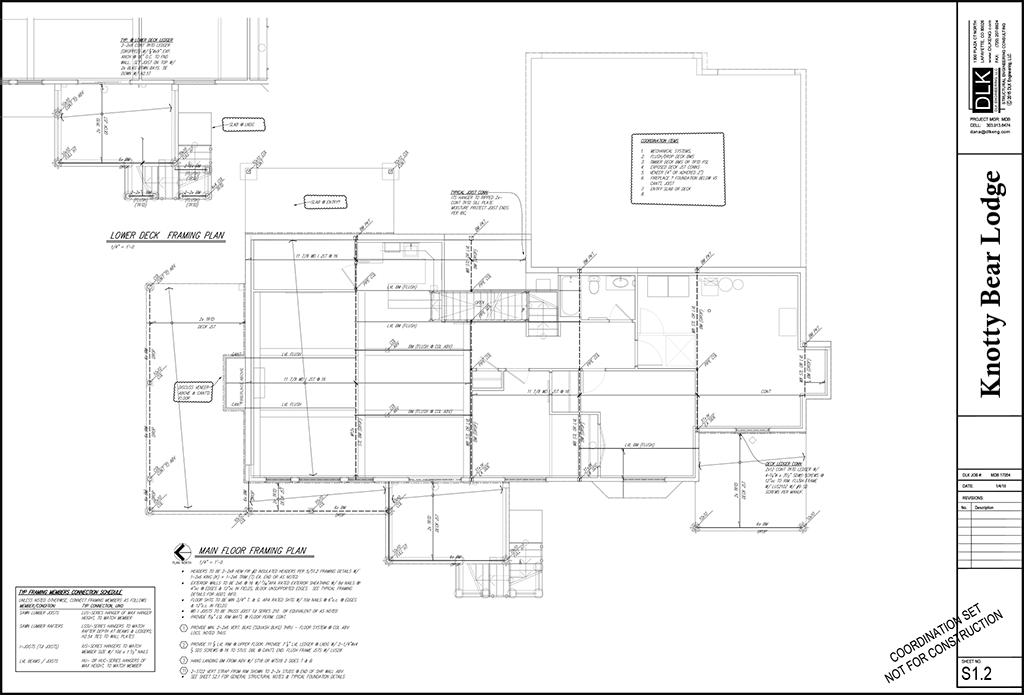 Main Floor Structurals