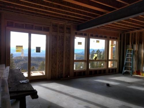 Lower Level Window Wall