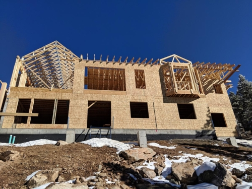 Rear Great Room Trusses