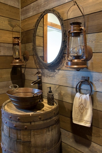 Barrel Sink Vanity