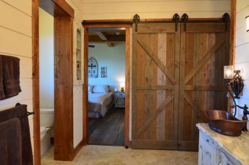 Master Bathroom DIY Barn Doors