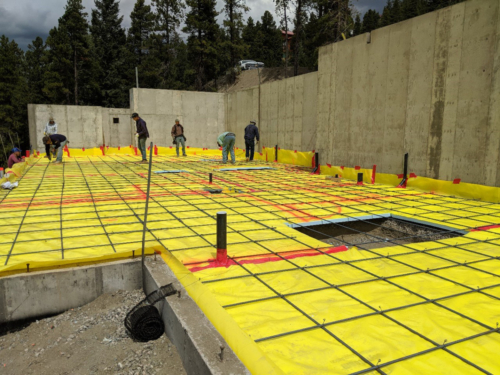 Reinforcing rebar grid