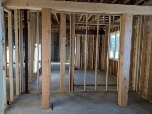 Bunk Room Timbers