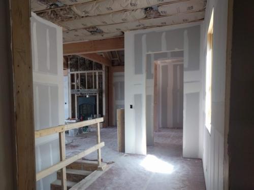 Owner Entry Drywall