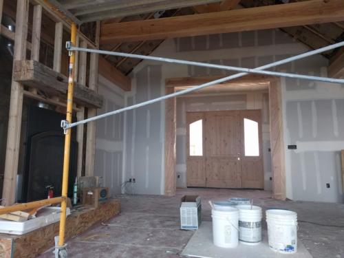 Main Entry Drywall