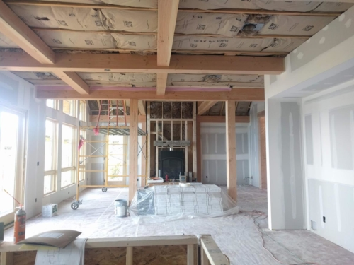 Kitchen, Dining, and Great Room Drywall