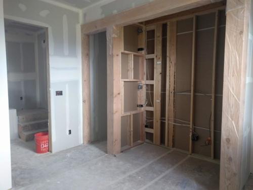 Bunk Room Drywall