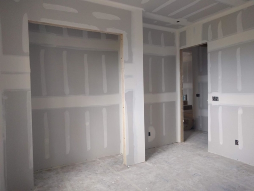 Guest Room Drywall