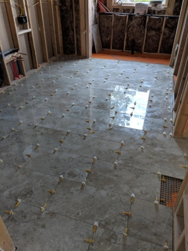 Master Bathroom Floor Tile