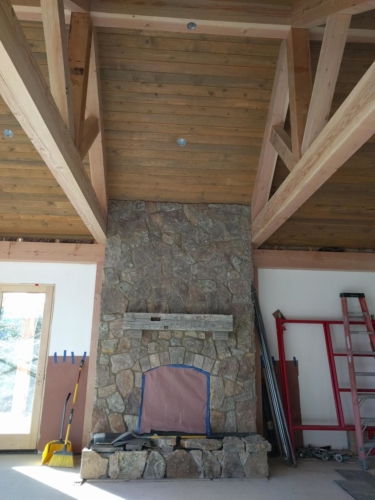 Great Room Tongue & Groove Ceiling