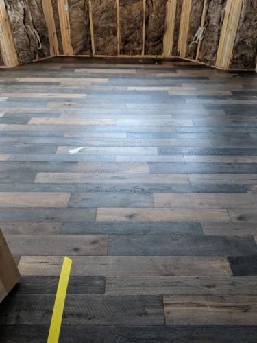 Master Bedroom Hardwood Flooring