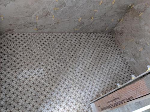 Master Shower Floor Tile