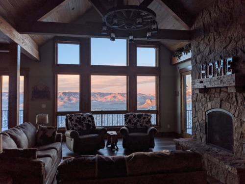 Winter Sunrise from the Great Room